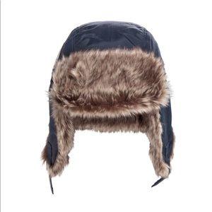 H&M Snow 8-12 yo faux fur hat